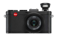 Leica X2 Black front integrated flash