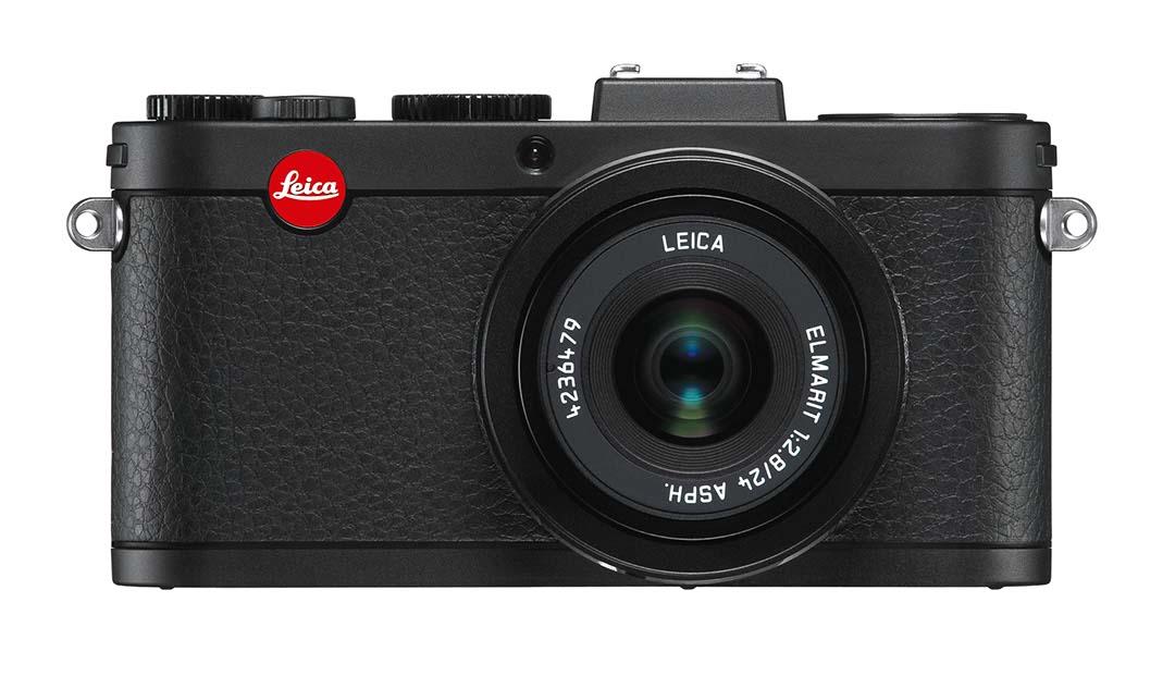 Leica X2 black front