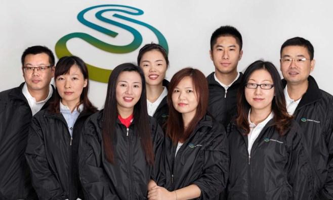 Shriro staff in Shanghai