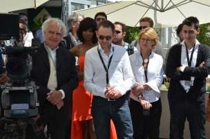 Jean-Yves le Poulain, Dominique Rouchon, Edith Bertrand, Davy Terzian