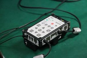 Controller for eye tracker