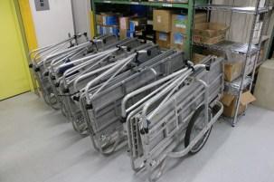 Popular aluminum fold-up carts