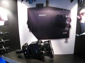Sony3D, 4K projector lens