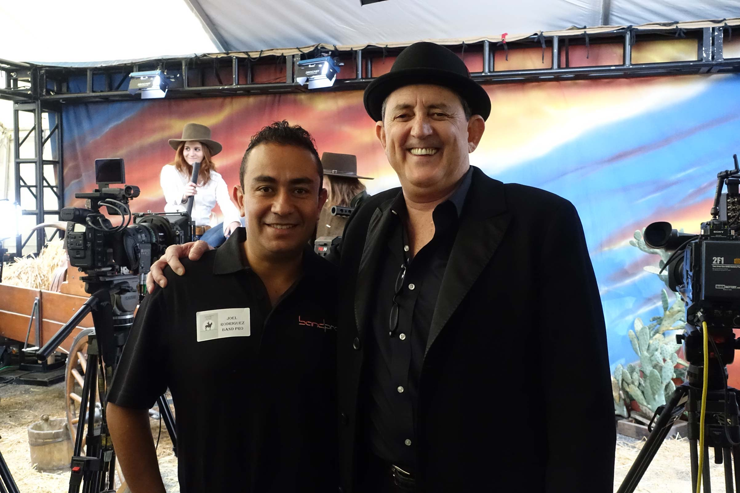 Joel Rodriguez, who will represent Band Pro in Central and South America
