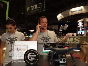 Colin Guinn of 3DR drone