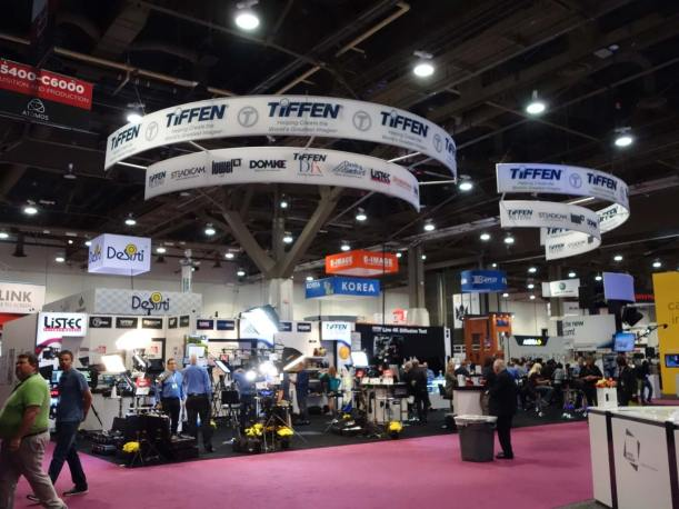 Tiffen booth