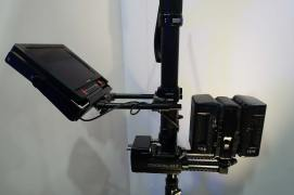 Tiffen Steadicam M-1 with Transvideo monitor