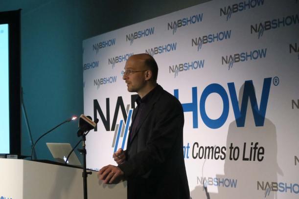 Marc Shipman-Mueller at ARRI press conference