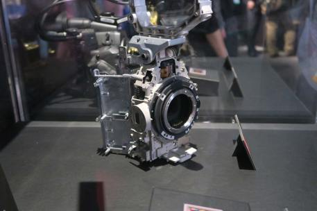 Canon C300 Mark II inside