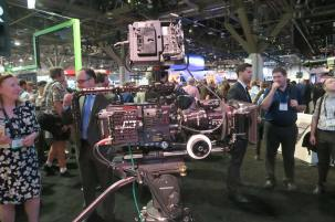 Panavised VariCam 35 with Hollywood handle