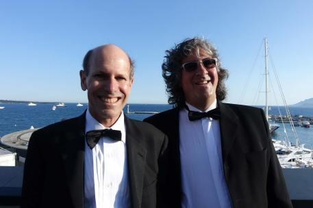 Jon Fauer, Danys Bruyere -- no hair, lots of hair
