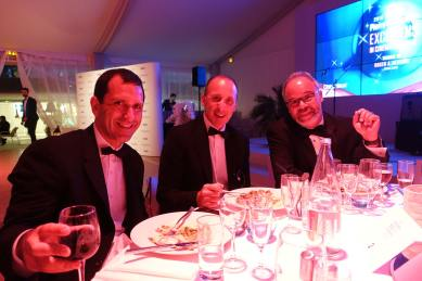 ICM's Dan Baime, Paul Hook, Producer Edward L. McDonnell