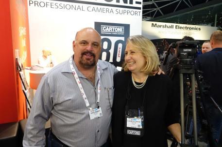 Steve Manios, Jr and Elisabetta Cartoni