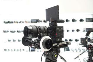 RED W8K full frame sensor camera with ZEISS CZ.2 full frame zoom lens