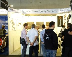Cinematography Electronics booth