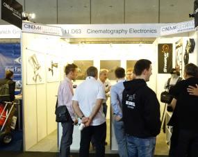 Cinematography Electronics booth