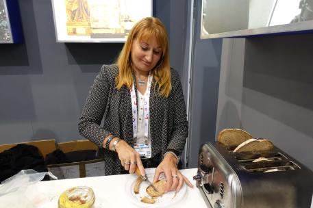 Foie gras, duck paté and a good toaster