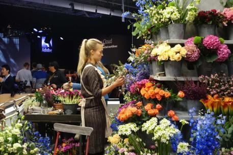 Blackmagic flowers