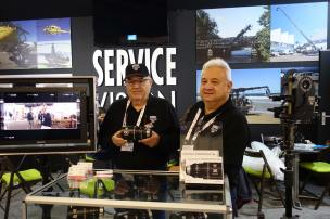 Andres and Alfredo Valles with Scorpiolens anamorphic 100