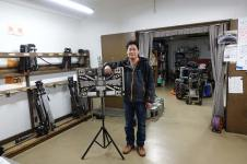 DP Yoshihito Asakura in the Toei camera department
