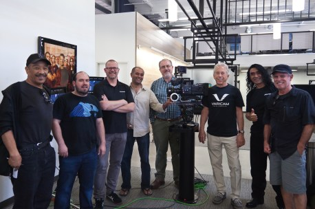 Ricardo Clement, First AC, ICG Jonathan Kutner, D.P, Colorist Aaron Latham-James, Production Business Dev. Mgr. Ambar B Capoor, Cinematographer ​Doug Leighton- Panasonic Technical Sales​ Steve Mahrer, Panasonic Senior Technologist