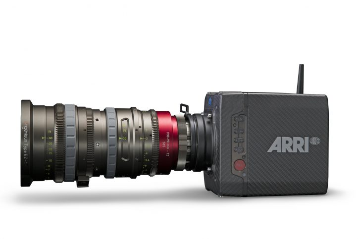 Angenieux Type EZ-1 S35 PL mount on ARRI Alexa Mini