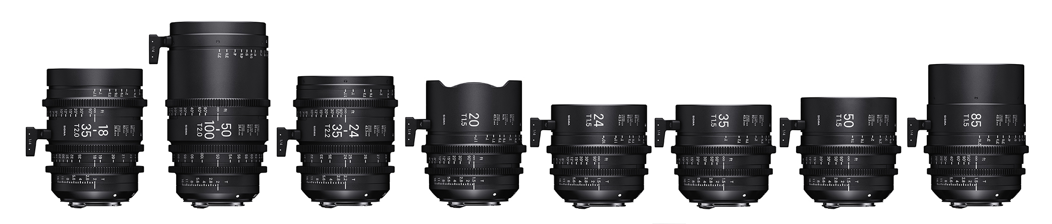 Sigma Full Frame and S35 Cine Lenses | Film and Digital Times