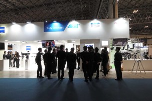 NAC Booth--distributors of ARRI, ZEISS, Angenieux, Slow Motion Cameras, etc.