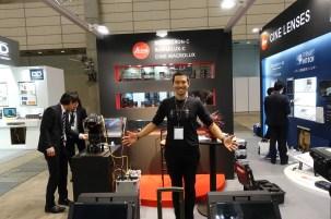Osamu Tsukada, Regional Sales Mngr Asia of CW Sonderoptic /Leica Cine Lenses