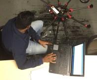 Aerobo Aerial Photography & Cinematrography Services located in Industry City. Photo: courtesy of Aerobo.