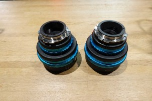 RVZ Rehoused Mamiya Medium Format primes