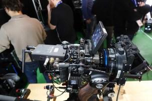 RVZ RED camera, Teradek BOLT transmitter, Golbal Dynamic handgrip, TLS 32mm T2.3