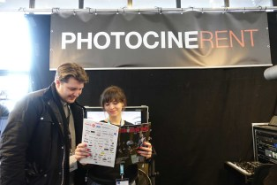 PhotoCineRent on the cover of FTimes Micro Salon Edition en franglais