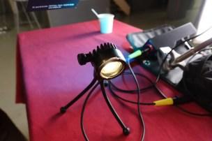 Cinepunkt tiny fresnel LED