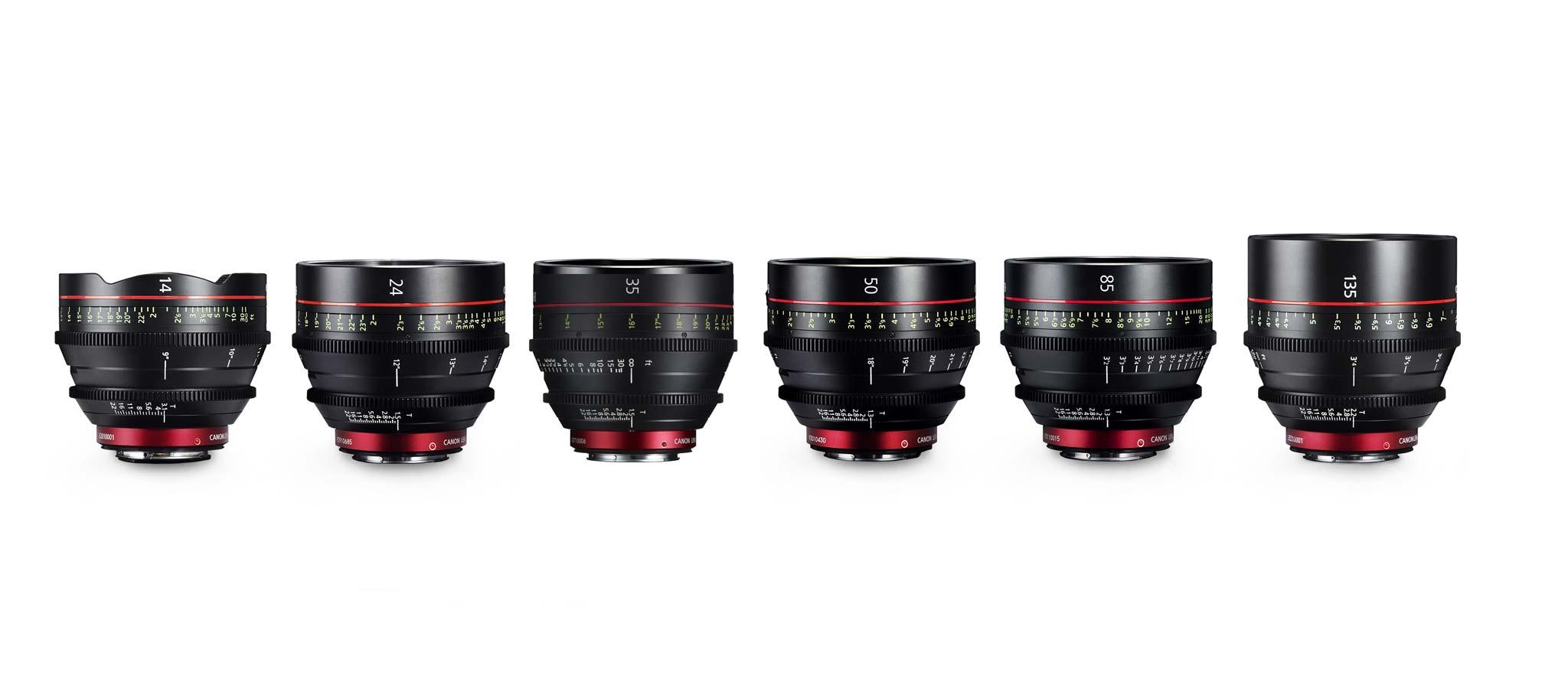 Correction: 6 Canon CN-E Full Frame Primes | Film and Digital Times