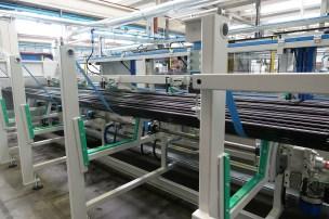 Massive new carbon fiber tube machine.