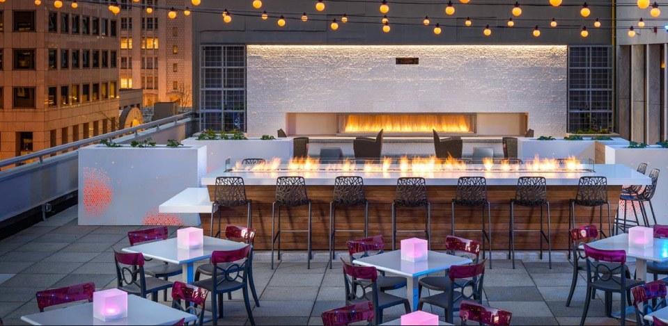 Frolik Kitchen + Cocktails at Motif Seattle, a Destination Hotel.