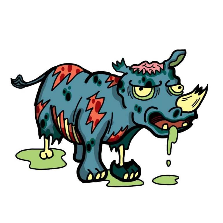 Rhino Zombie