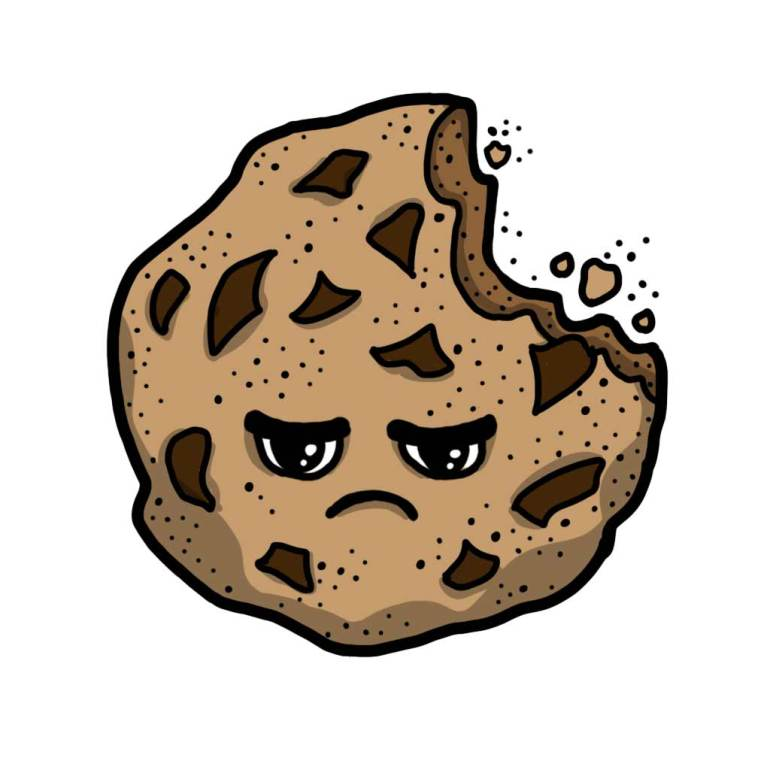 Food bite cookie