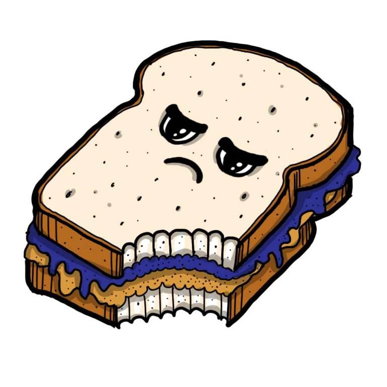 Food bite sandwich