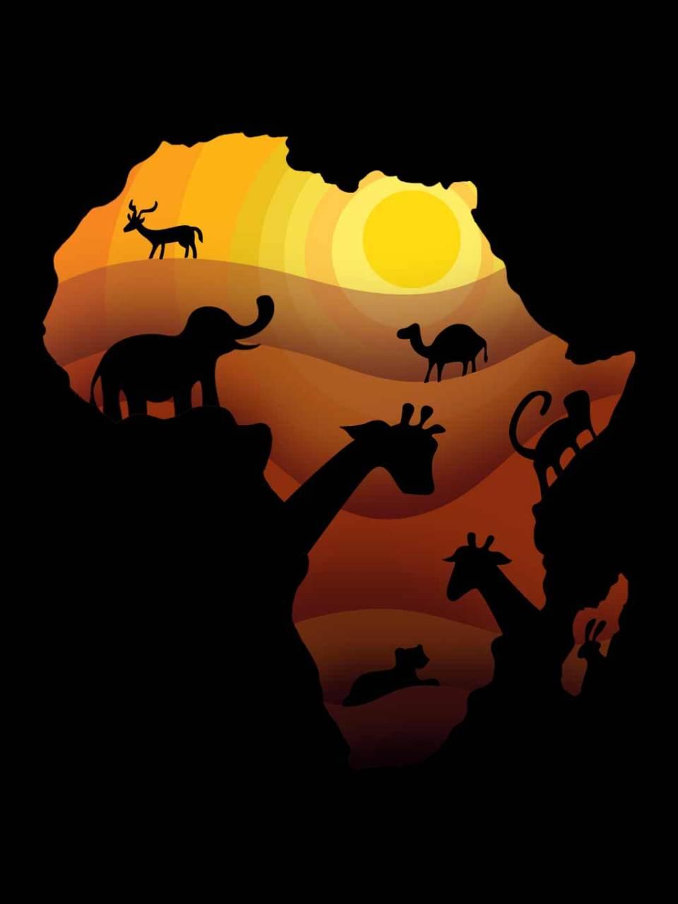 africaAnimalsFLat