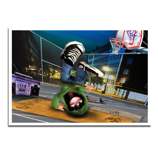 Jay D Breakdance: Game Story Illustration