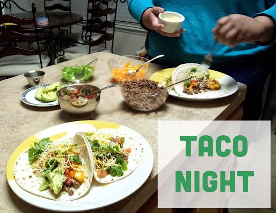 Taco Night Tacos