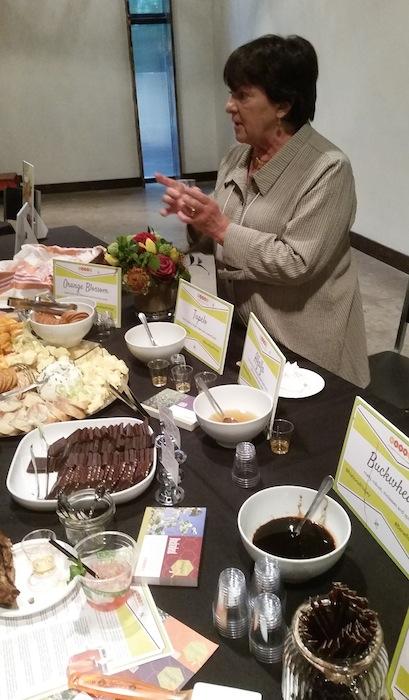 Marie Simmons Honey Tasting