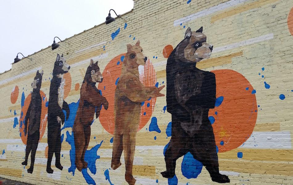 Dancing Bears Mural Nashville East Nashville