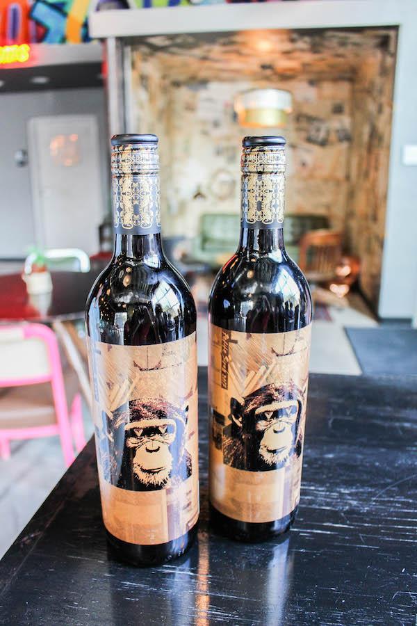 Fearless Captivations Infinite Monkey Theorem Winery Austin Wine