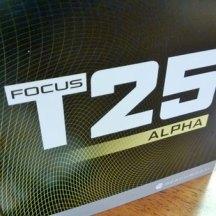 Focus T25 Alpha DVDs