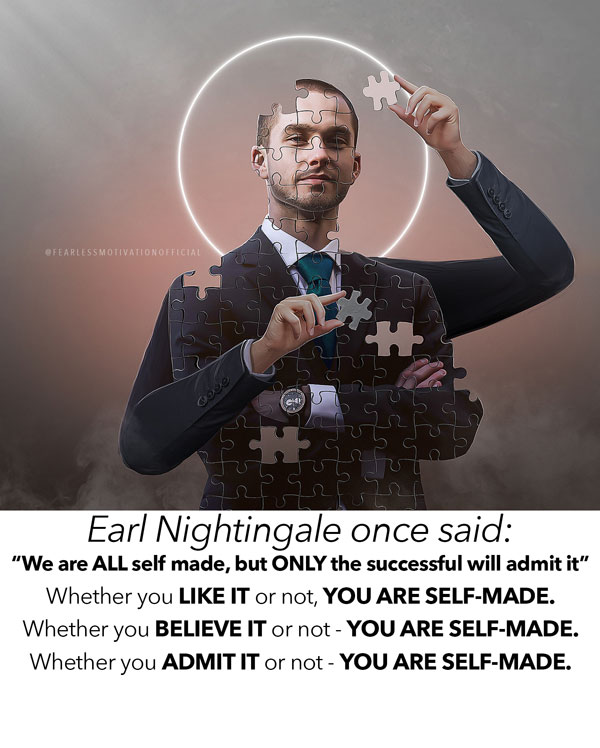 you are self made quote