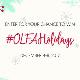 Olfa Holidays Giveaway