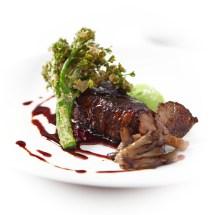 Braised Beef Short Rib and Broccolli